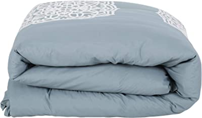 Christopher Knight Home 309044 Liliana Queen Size Fabric Duvet, Teal