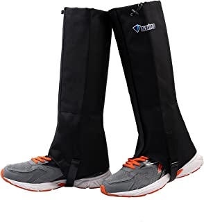 TAGVO Snow Gaiter, Waterproof Windproof Warm Shoes Cover, Durable Easy Cleaning Hiking Gator, Easy Open and Off, Fit Hunting Climbing Snowboarding Skiing Biking Trimming Grass Women Men