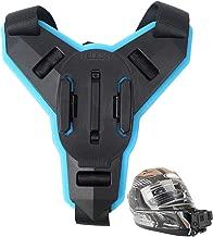 XBERSTAR Motorcycle POV Shots Full Face Helmet Chin Mount Jaw Holder for GoPro Hero 6/5/4 Xiaomi Yi Action Camera