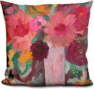 LiLiPi Surrender Softly Decorative Accent Throw Pillow