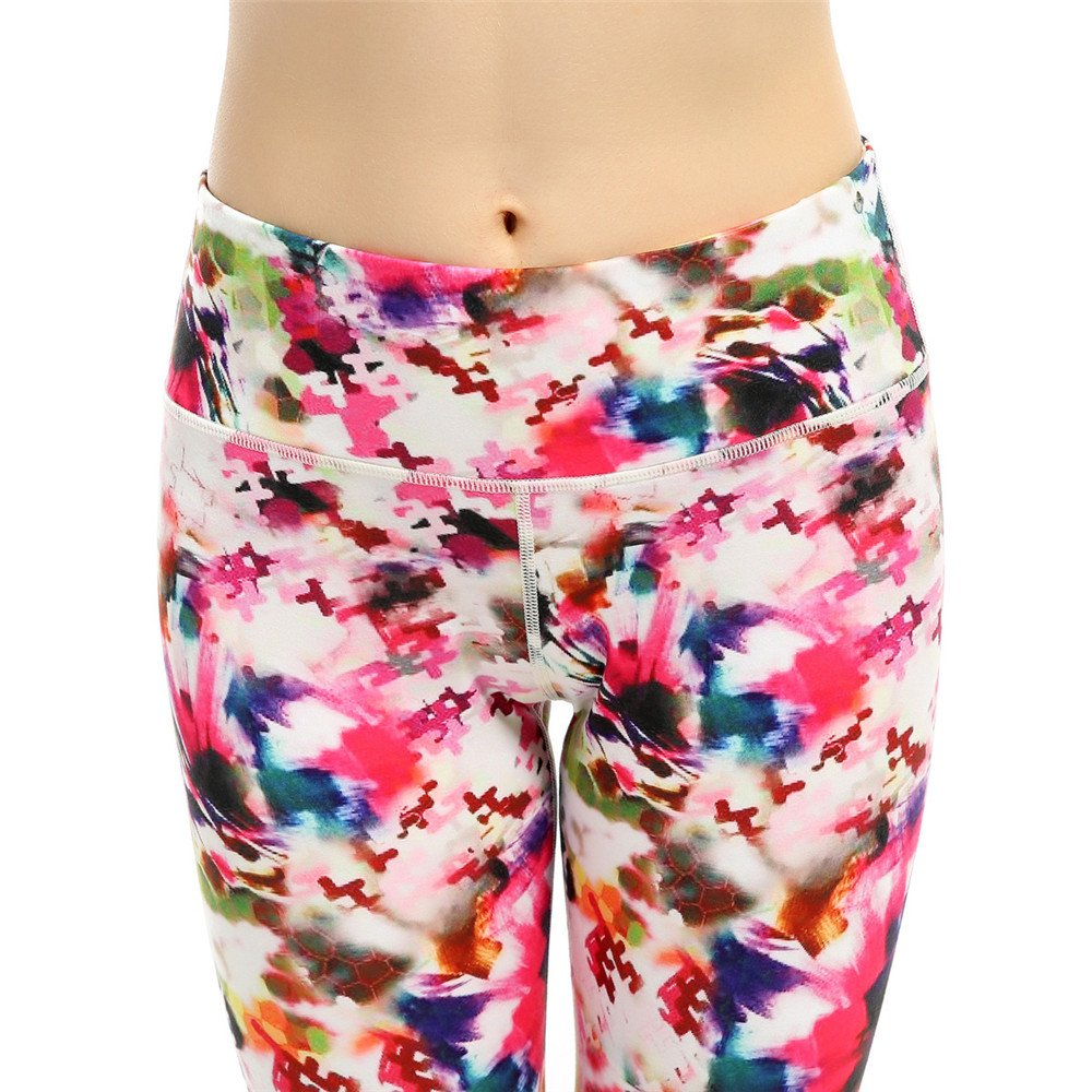 Mallas Deportivas de Mujer Cintura alta Pantalones de yoga Control ...