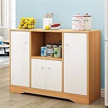 N/Z Home Equipment Sideboards Multifunctional Large Capacity Solid Wood Drawer Home Modern Minimalist Tea Cabinet Locker F...