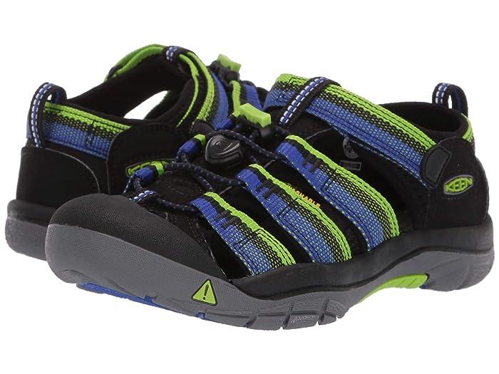 Keen Kids  Newport H2 (Little Kid/Big Kid) (Racer Black) Boys Shoes