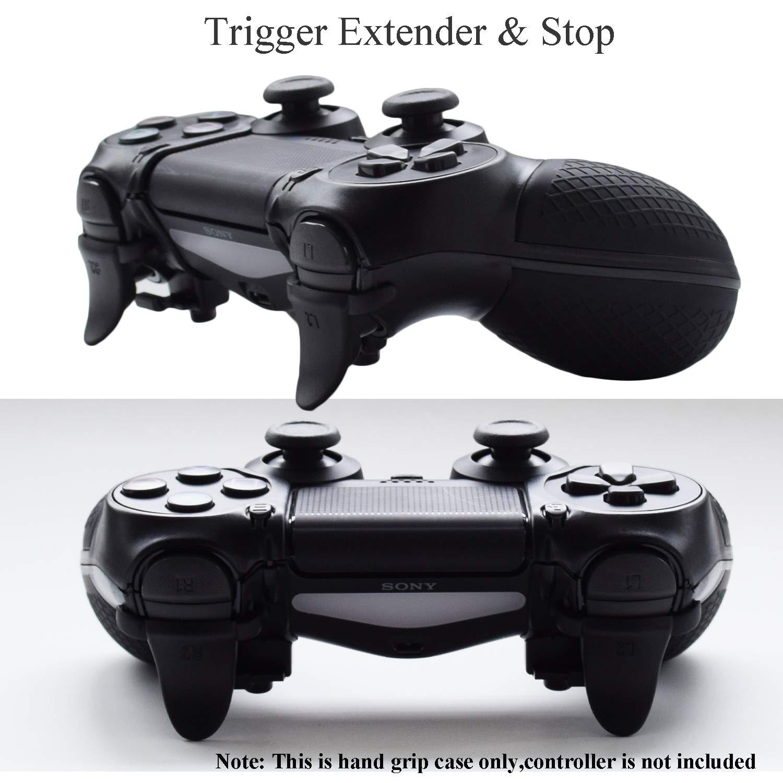 Controlador PS4 Armor Gear Trigger Stop y Extender, Hikfly Rubber Hand Grip Estuche protector para Sony Playstation 4 PS4 / PS4 Slim / PS4 Pro Controller: Amazon.es ...