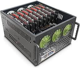 Hydra II Rev. B 8 GPU 6U Case for Learning/Mining/Rendering Servers, Dual PSU Ready
