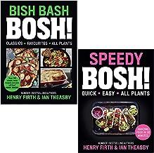 BISH BASH BOSH & Speedy BOSH! By Henry Firth & Ian Theasby 2 Books Collection Set