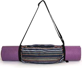 Aurorae Yoga Mat Bag | Mat Sling Carrier | Large Outside Zip Closure Pocket