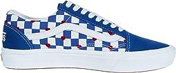 Vans Heart/True Blue (Comfycush Old Skool x Autism Awareness)