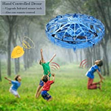 $26 » Flying Drones Toys UFO for Kids Toddlers, Mini Hand Controlled Operated Drone Helicopter Flying ball for Boys Girls