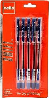 Cello Swift Ball Pen 0.7Mm Blister Of 5Pc Blue