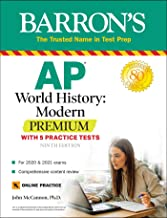 AP World History: Modern Premium: With 5 Practice Tests (Barron's AP) PDF