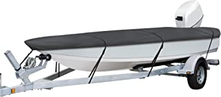 Classic Accessories StormPro Heavy Duty Boat Cover with Support Pole (Renewed)