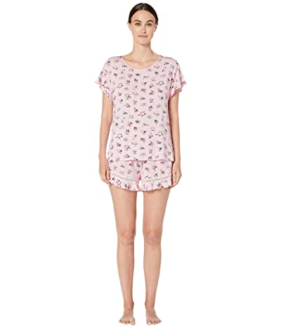 Kate Spade New York Modal Jersey Short Pajama Set (Bouquet) Women