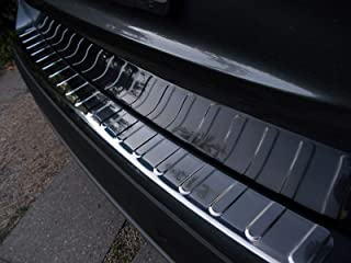 1 X protezione paraurti cromato in acciaio inossidabile con smussatura per Passat 3G5 B8 Variant 100/% acciaio inossidabile