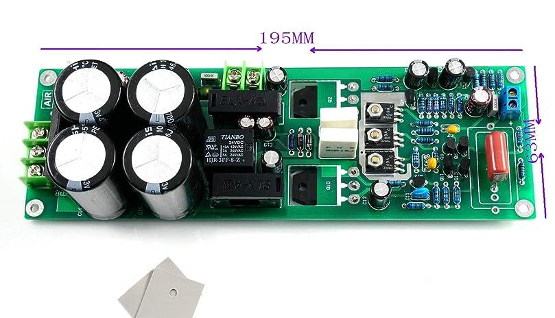 意味するスキー休日にMX90モノラルパワーアンプボード4700UF * 4(整流器パワー保護リレー付き)0302G 0281G