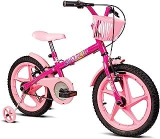 Bicicleta Infantil Verden Fofys - Aro 16 com cestinha e rodinhas