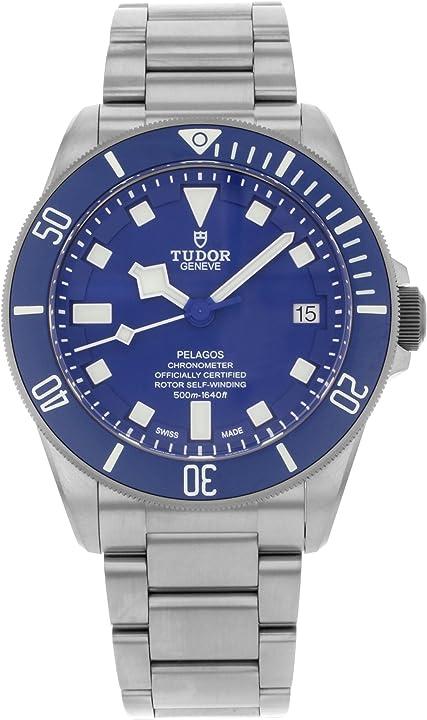 Orologio tudor pelagos blue dial automatico orologio uomo 25600tb M25600TB-0001