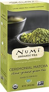 Numi Organic Tea Ceremonial Matcha, 30 Grams / 1.06 Ounces per Box, Highest Grade Japanese Matcha Green Tea Powder (Packaging May Vary)