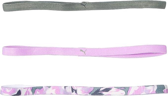 Amazon.com: PUMA Ladies Hairband 3er Pack, AT Sportbands Women ...