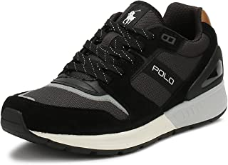 Polo Ralph Lauren Train100, Men's Shoes, Black, 10 UK (44 EU)