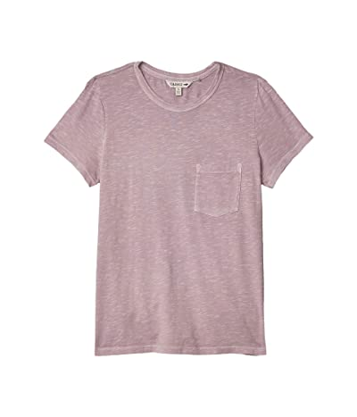 Toad&Co Primo Short Sleeve Crew (Quail Vintage Wash) Women