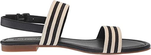Stripe Elastic/Tumbled PU