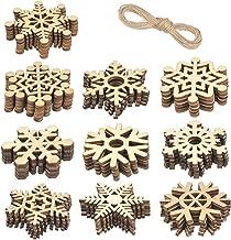 Amazon Com Large Wooden Snowflakes