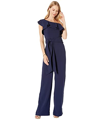 Lilly Pulitzer Lyra Jumpsuit (True Navy) Women