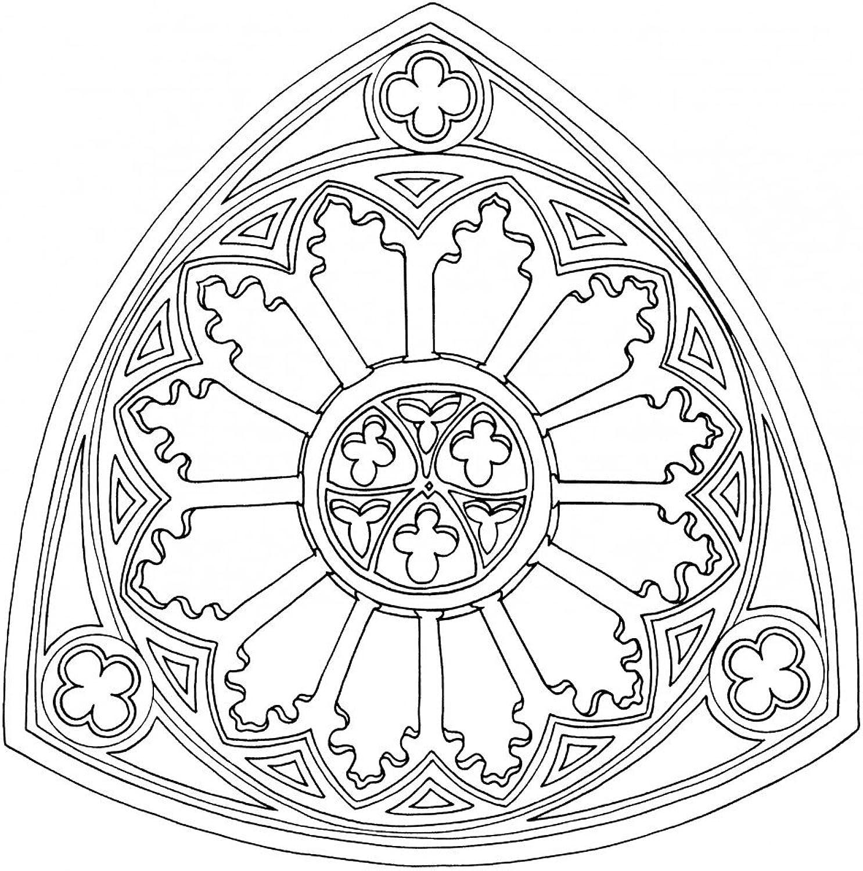 Lebensfreudeladen Mandala Leinwandmalvorlage 162 100 x 100 cm B00G28NDJY | Ermäßigung