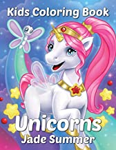 Unicorns: A Unicorn Coloring Book for Kids Ages 4-8