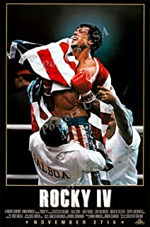 Posters USA Rocky IV 4 Movie Poster GLOSSY FINISH - MOV023 (24