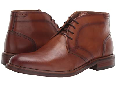 Steve Madden Viscal (Cognac Leather) Men