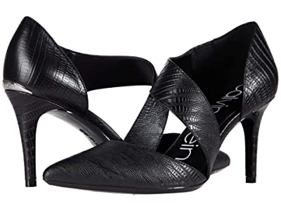 Calvin Klein Gella Pump (Black) High Heels