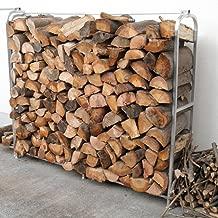 アルミ薪ラック 1台 スタンド (薪ストーブ生活に欠かせない薪の整理整頓に)