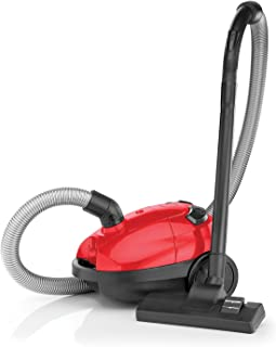 Black+Decker 1000W Bagged Vacuum Cleaner, Red/Black - VM1200-B5, 2 Years Warranty