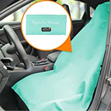 NEXERSYS 2-in-1 Sports Towel and Car Seat Cover, 1 Pack, Aquamarine