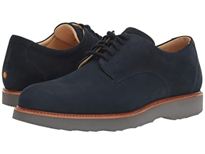Samuel Hubbard Bucks (Navy Nubuck/Grey Outsole) Men