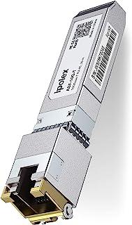 ipolex 10GBase-T SFP+ RJ45 Copper Transceiver Module for Cisco SFP-10G-T-S, Ubiquiti, D-Link, Supermicro, Netgear, Mikroti...