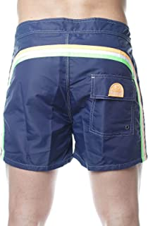 Sundek Boxer Mare Pervis-BS Elastic Waist 16 Piping,Pocket Lace