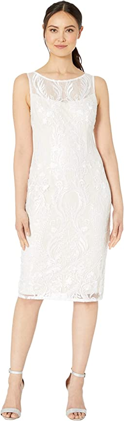 c8436a3c Adrianna papell lace sheath dress | Shipped Free at Zappos