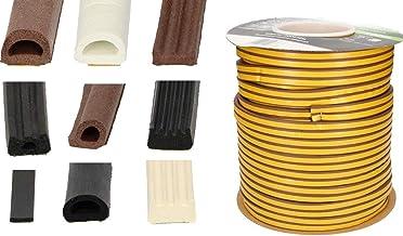 KOTARBAU Afdichttape voor deuren en ramen, vers.maten en soorten, deurdichting, dichtingsstrips, raamafdichting, rubberen ...