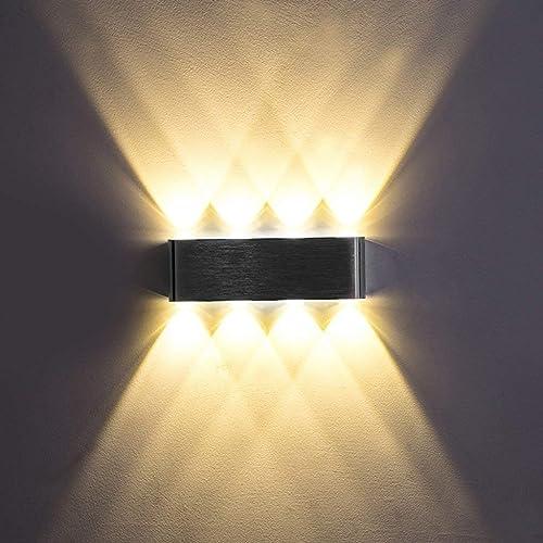 Wall lamp éclairage, Moderne Minimaliste Applique, Simple LED en Aluminium Chambre Tête De Salon Salon Couloir Chaud Génie Lampe