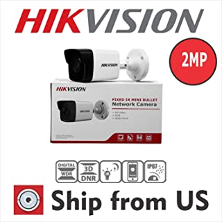 Hikvision DS-2CD1021-I 2MP IR DWDR Outdoor 2.8mm Fixed Lens Bullet Camera