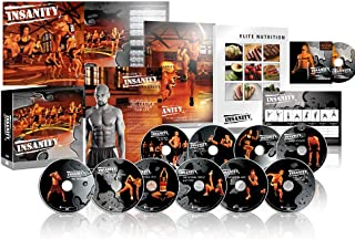 BQN ZOMLAN Insanity Exercise Shaun T DVD, Fast and Furious Complete Workout with Nutrition Guide� (ins)