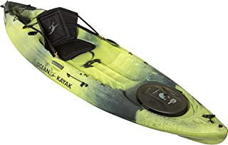 Ocean Kayak Caper Angler One-Person Sit-On-Top Fishing Kayak, Lemongrass Camo, 11 Feet