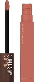 Maybelline SuperStay Matte Ink Liquid Lipstick, Long-lasting Matte Finish Liquid Lip Makeup, Coffee Edition, Highly Pigmented Color, Hazelnut Hypnotizer, 0.17 Fl Oz