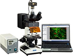 OMAX 40X-2500X Advanced EPI-Fluorescence Trinocular Biological Microscope with 14MP USB Digital Camera
