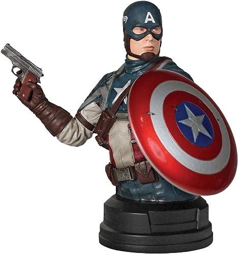 Captain America  The First Avenger (Movie) SDCC 2011 Exklusive Captain America Movie Mini-Büste
