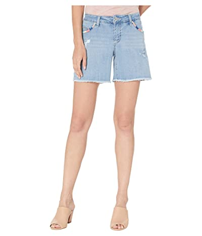 Jag Jeans Whipstitch Carter Shorts (Island Blue) Women