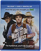 A Million Ways to Die in the West (Unrated Blu-ray + DVD + DIGITAL HD + Neighbors 2: Sorority Rising Fandango Cash)